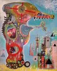 Outsider Art: Robbie Chopper by bugatha1