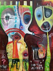 Outsider Art: What Did you Make? by bugatha1