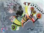 Outsider Art: Chomp by bugatha1