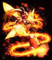 Blazing Firefly commission by glitcher
