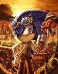 Commission: Sonic Steampunk by glitcher