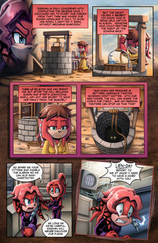 SONIC RETOLD - Issue 3, Page 2 by glitcher