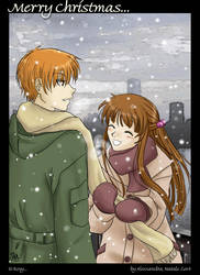 Xmas gift2 -- Fruits Basket by funny-neko