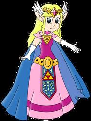 Princess Zelda by WarioSuperstar