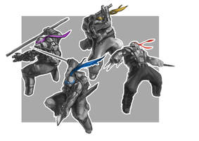 TMNT by zylhalo
