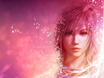 Lightning-Final Fantasy XIII-2 by softlady