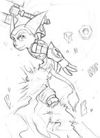 Ratchet Hoverbooting by Aluinashryu