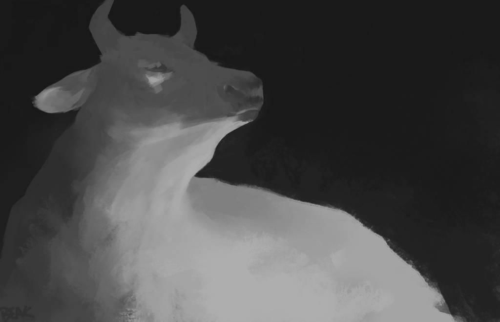 Cow by BeakBonk