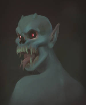 Toothy Boi (with process GIF) by BeakBonk