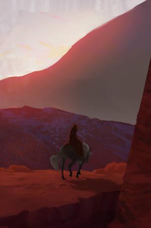 Horse by BeakBonk