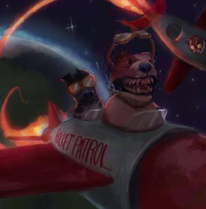 Rocket Patrol by BeakBonk