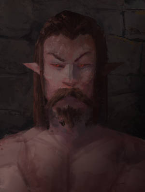 Darkelf by BeakBonk