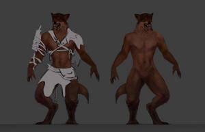 Werewolf by BeakachuAnimations