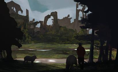 Tapirs by BeakachuAnimations