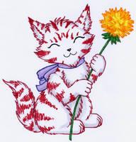 Birthday-Kitty by KonnaYasha