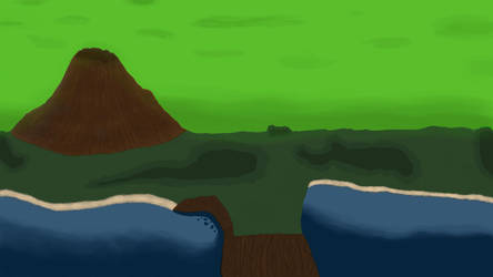 First Enviroment Painting by DarthHaven