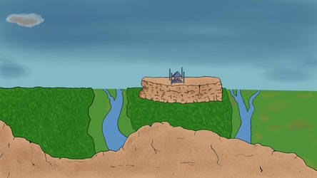 WIP Landscape by DarthHaven