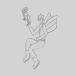 Fairy male by DarthHaven