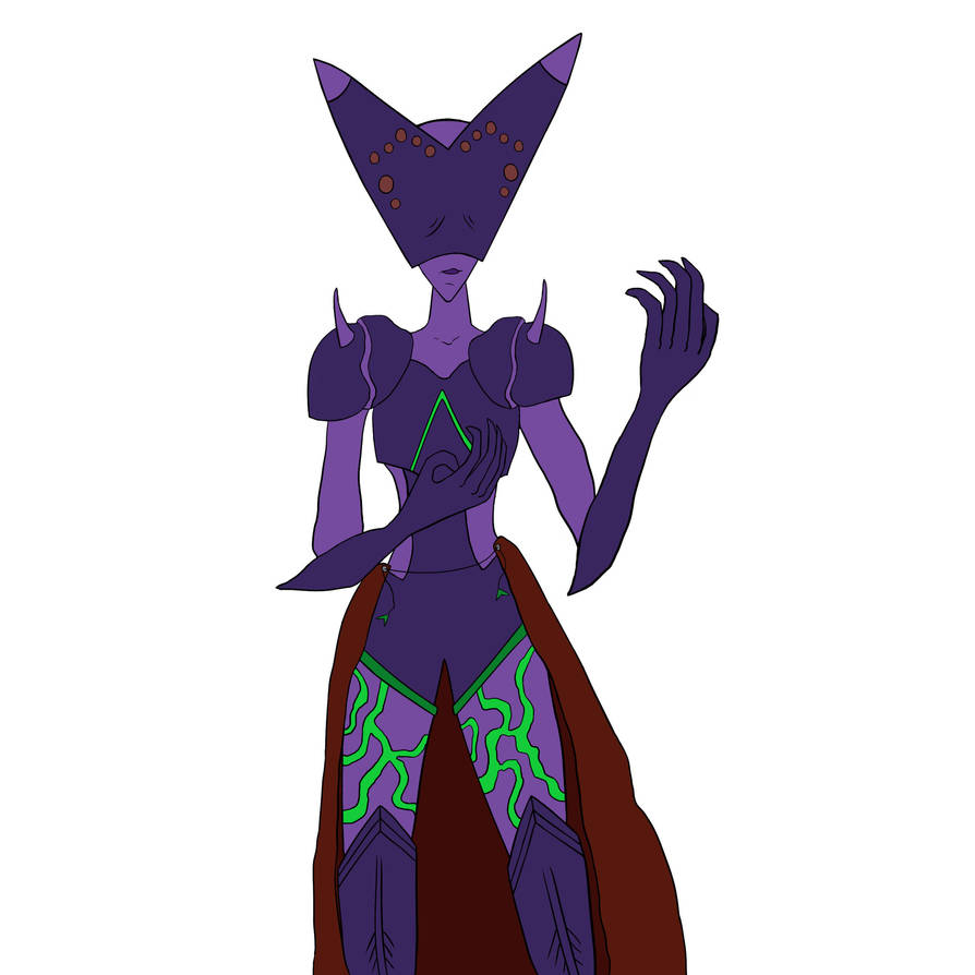 Demon female by DarthHaven