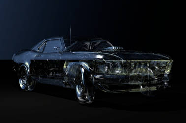Glass Stang by quasimetaphysical