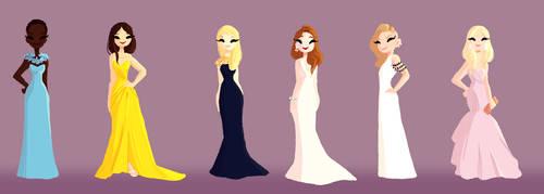 SAG Dresses by snarkies
