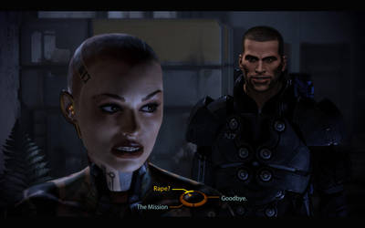 Mass Effect Shepard Rape Face by IronyTaken