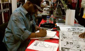 Carl Kent Sketching by POWERSMITH2