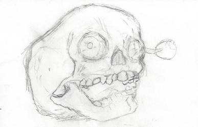 Skull by Grimmyponies