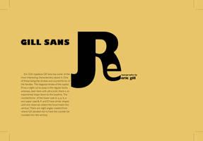 Gill Sans Postcard 3F by hcirtep