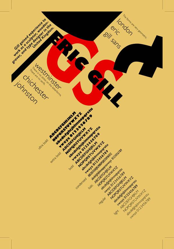 Gill Sans Postcard 4F by hcirtep