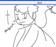 God (Lineart, not FTU) by DovahCourts