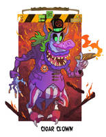 Ghost Clown by Garvals
