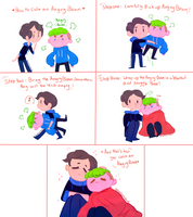 Quick setiplier comic How to calm an Angry Bean by ChloesImagination