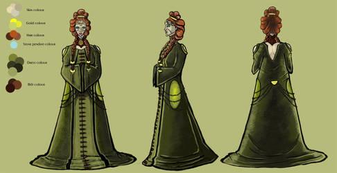 Priestess by Kejlynda