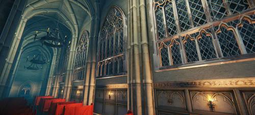 Gothic chapel by Kejlynda