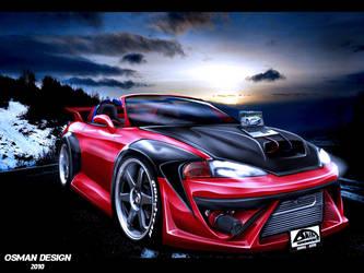 Mitsubishi Eclipse by Osman-Design