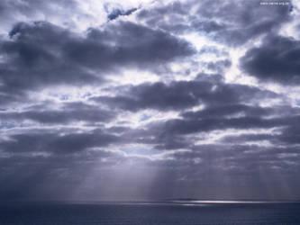Cloudbank over Robben Island 2 by ash