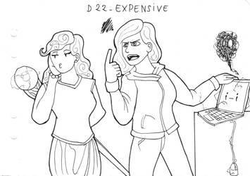 Inktober D22 - Expensive by ArwenAngelis