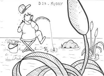 Inktober D23 - Muddy by ArwenAngelis