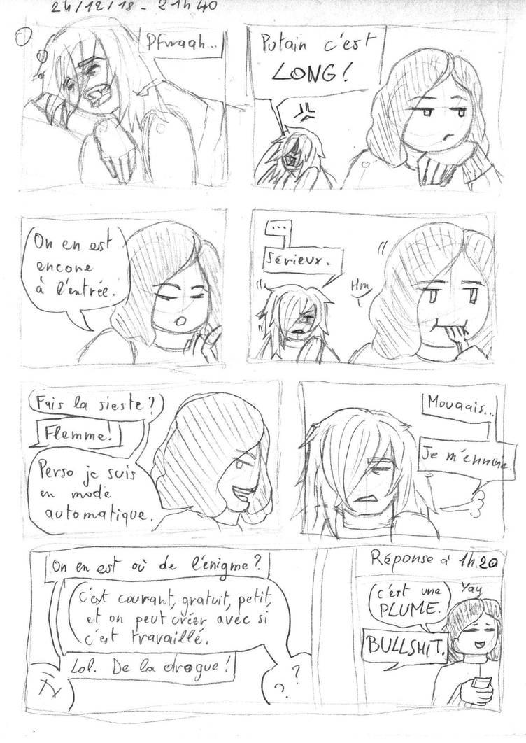 Comic FR - Attendre Noel by ArwenAngelis