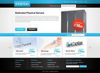 ISP Website Design by cendhika