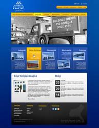 Construction Webdesign by cendhika