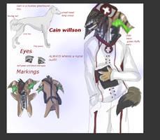 Adoptable :close: cain Willson by Bacon-Paws