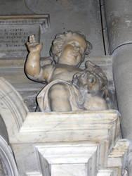 Angel in a church by Hagalaz13