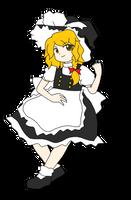 (Once again) ZUN Styled ~ Kirisame Marisa by Kousaku-P