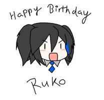 Yokune Ruko's birthday by Kousaku-P
