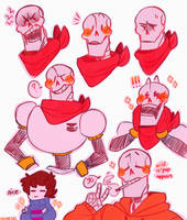 a skele-ton of paps by mikarons