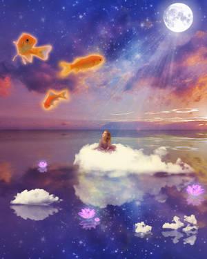 Dream Collage - Yearning by Amanda-Kulp