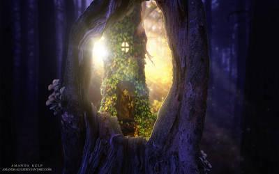 Portal to the Fairy World by Amanda-Kulp