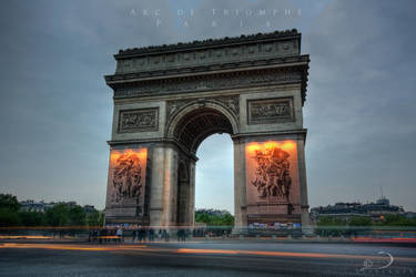 Arc de Triomphe by Linkineos